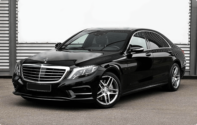 Budapest Luxury Sedans - Mercedes Benz S Class W222 Long 500 - Front View