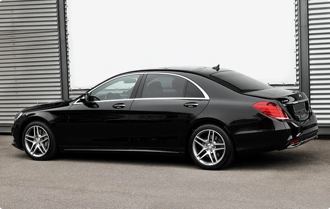Budapest Luxury Sedans - Mercedes Benz S Class W222 Long 500 - Side View